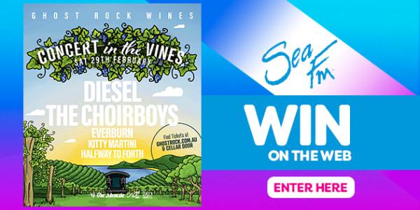 win concert in the vines