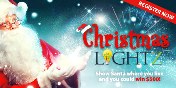 Christmas Lights 2018 register
