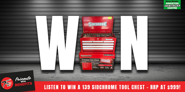 Slide Win a Sidchrome tool chest