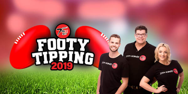 7hofm footy tipping slider WITH MICK MATT AND SARAH