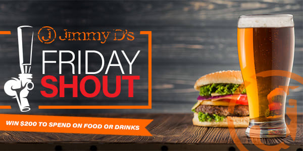 Slider Jimmys Fridayshout RED