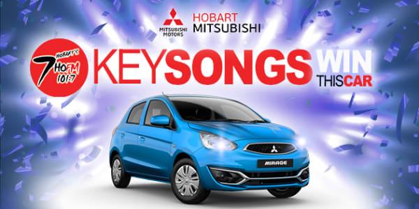 hobart mitsubishi mirage giveaway key song v2