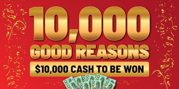 TAS LAU 7HO 10000 Good Reasons 1200x600