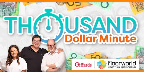 Thousand dollar minute - Giffards