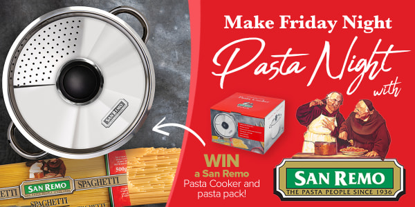 TAS LNC LAFM7SD Make Friday Night Pasta Night with San Remo slider