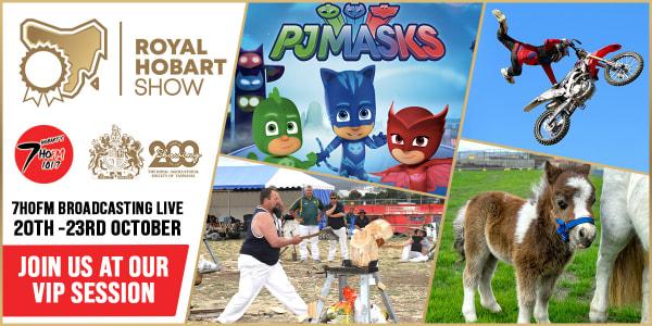 TAS HBA 7HO The Royal Hobart Show slider