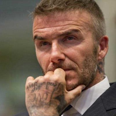Beckham dobbed in for using phone at wheel.jpg