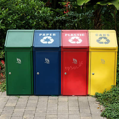 Trash Recycling with Disposal Containers.jpg