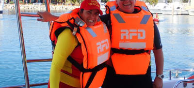 Cheryl McCarthy the Director of Lifesaving from Surf Life Saving NSW Far South Coast branch on beach safety tips