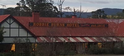 Owner Katie Pye on the Robbie Burns Hotel opening