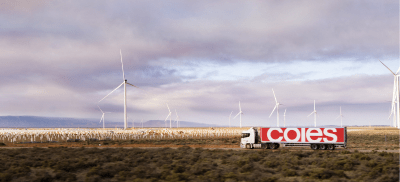 Coles secures path to 100% renewable electricity