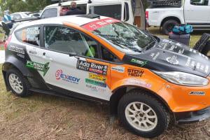 Adrian Stratford - Bendigo rally driver