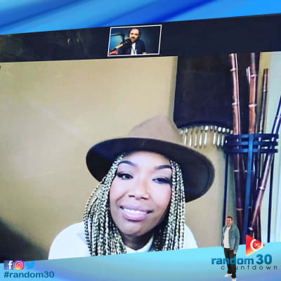 Brandy talks with Mikey about her new single 'Baby Mama'