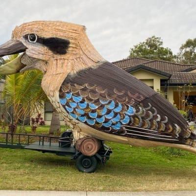 The Giant Kookaburra Has Landed