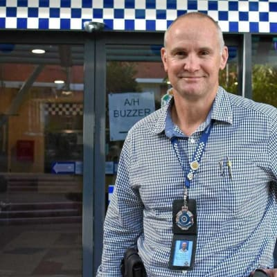 Sergeant Wayne Butcher CCTV footage a safe option and helpful
