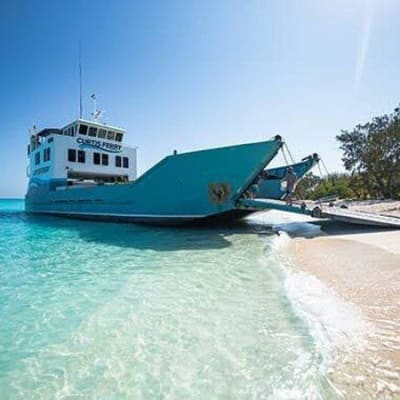 School holidays here take the family over to the islands with Curtis Ferry Services