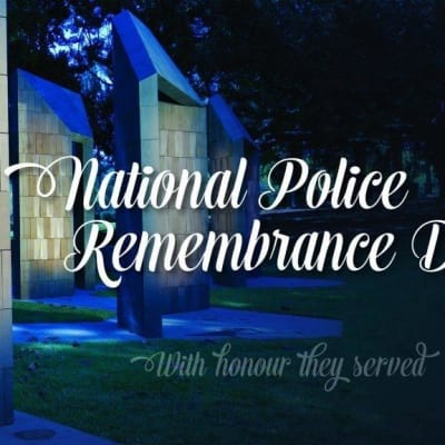 Police Rememberance day with Sgt Wayne Butcher