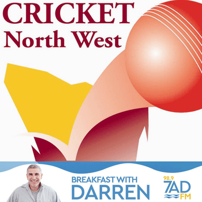 Simmo with Cricket North West. Oct 23.