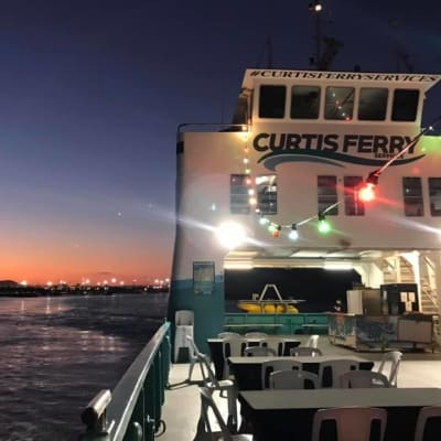 Book a Harbour Party with Curtis Ferry Services