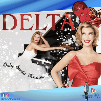 Delta Goodrem stops by the show to chat Christmas