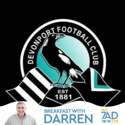 Devonport FC President Gerard Enniss.