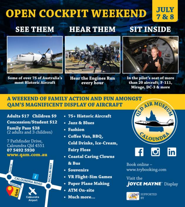 QAM Open Cockpit Weekend - Community Switch - Zinc 96 1