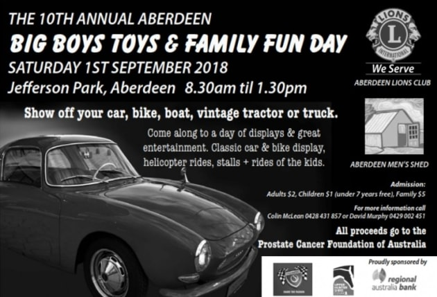 Aberdeen Big Boys Toys And Family Day 98 1 Power Fm 98 1 Power Fm