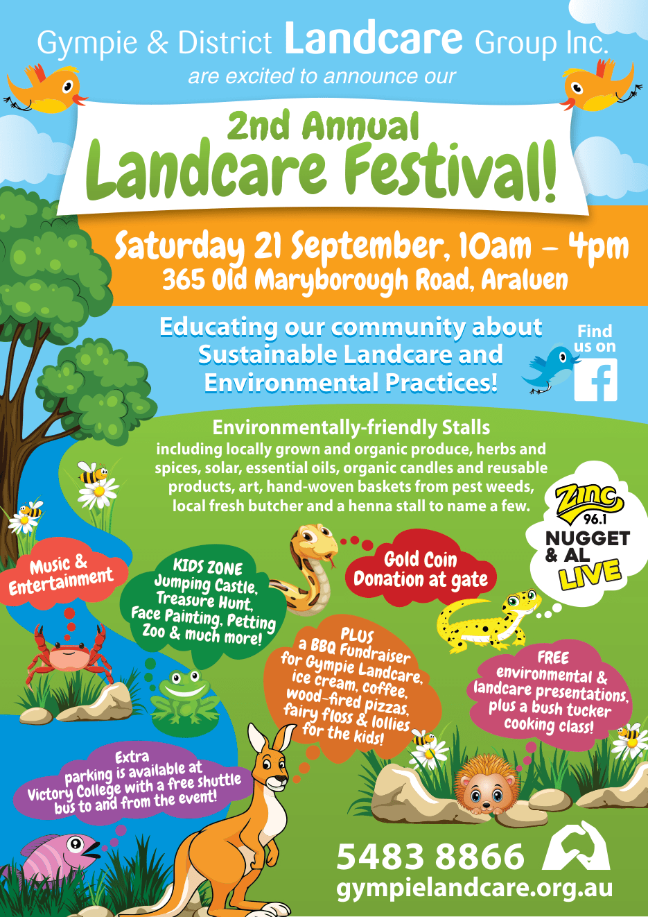 Gympie Landcare Festival - What's On - Hot 91 1
