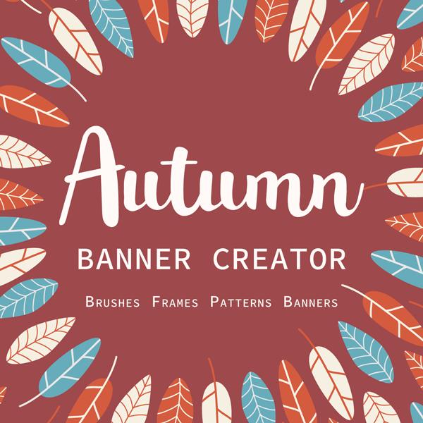 Otoño Creador de Banners