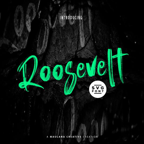 Roosevelt Tipografía