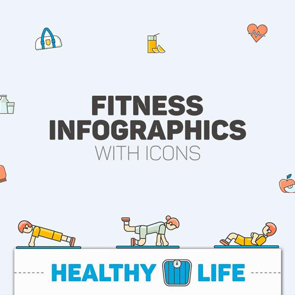 Fitness Pack Infografías