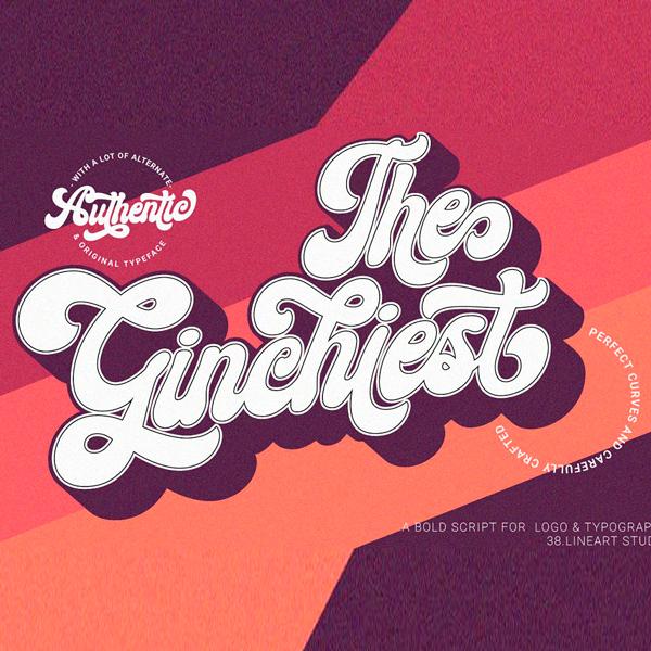 Ginchiest Tipografía