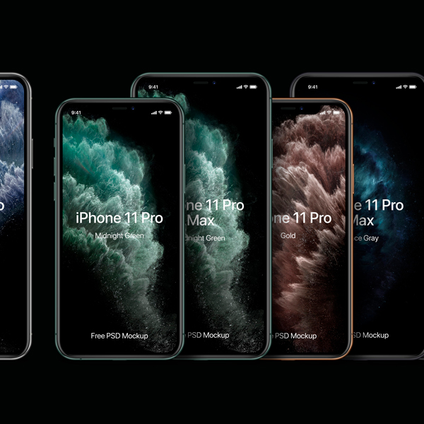 Mockup iPhone 11 Pro