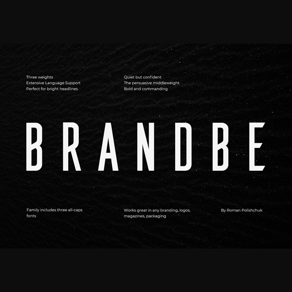Brandbe Tipografía