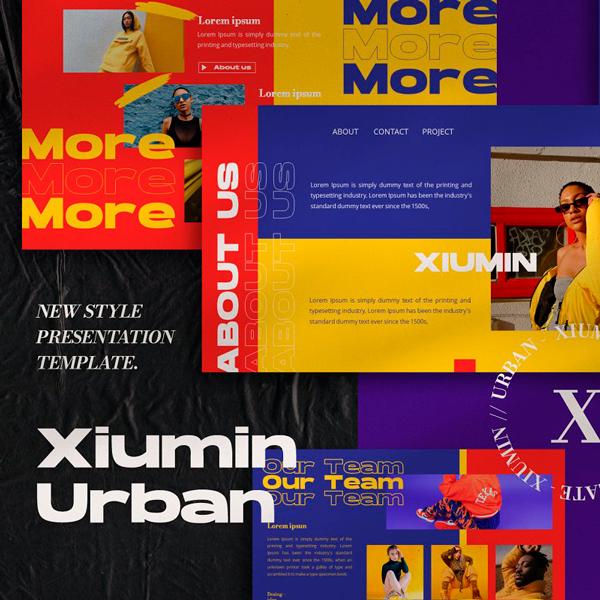 Xiumin Urban Plantilla Presentación