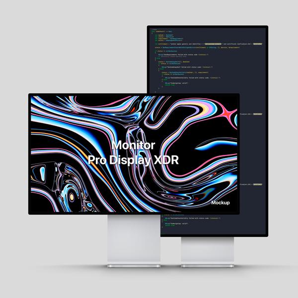 Mockup Pro XDR Display PSD