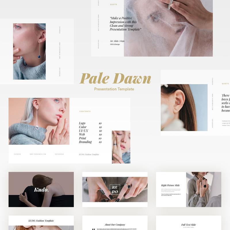 Pale Dawn Plantilla Presentaciones