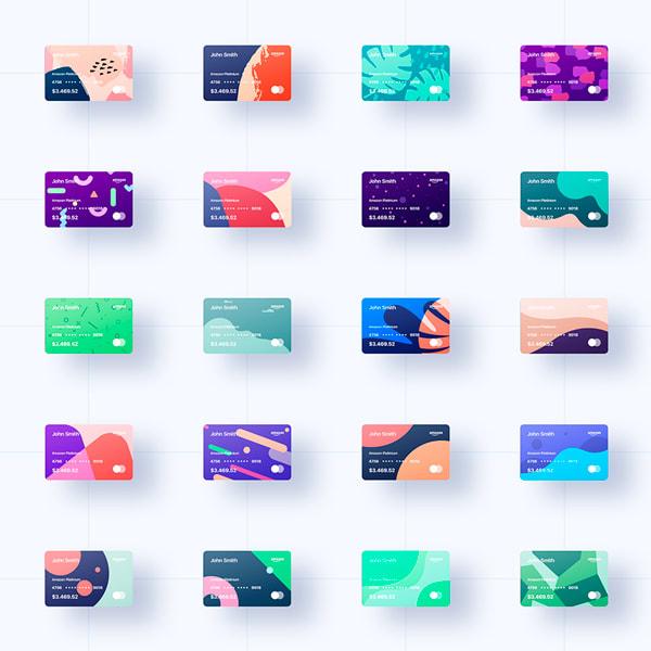 100 Plantillas Diseño Tarjetas de Crédito