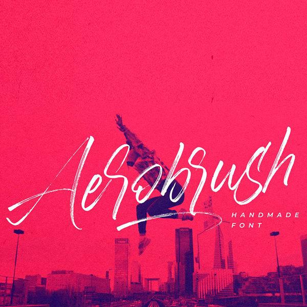 Aerobrush Tipografía