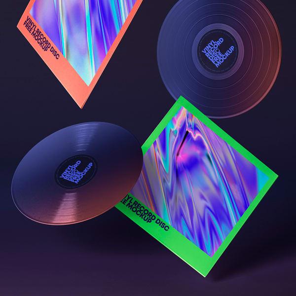 Mockup Discos Vinilo v2