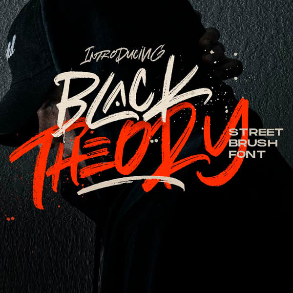Black Theory Tipografía