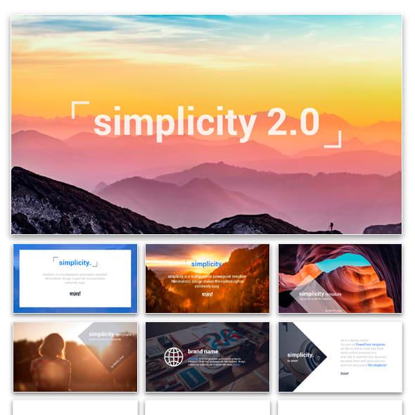 Simplicity Plantilla PowerPoint
