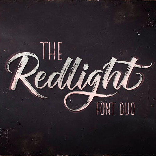 The Redlight Duo Tipografía