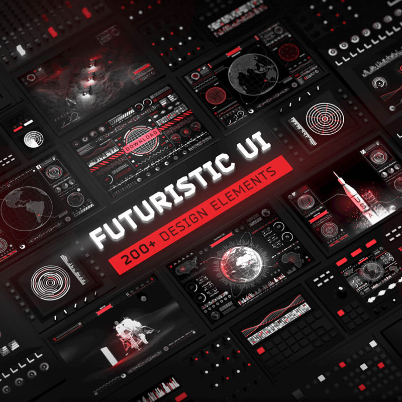 Futuristic UI Kit