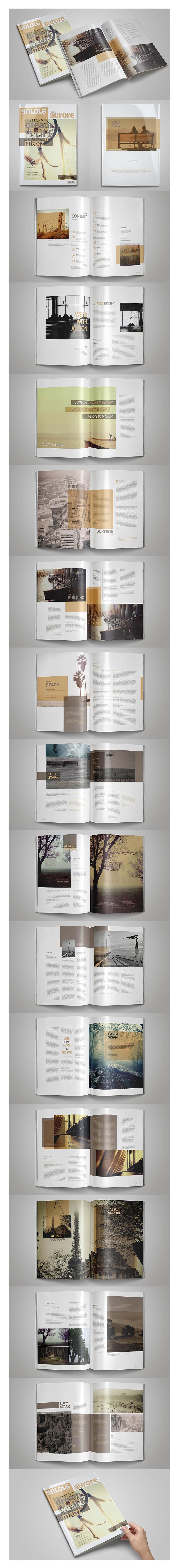 Plantilla Revista Multipropuesta Indesign - 1001.graphics