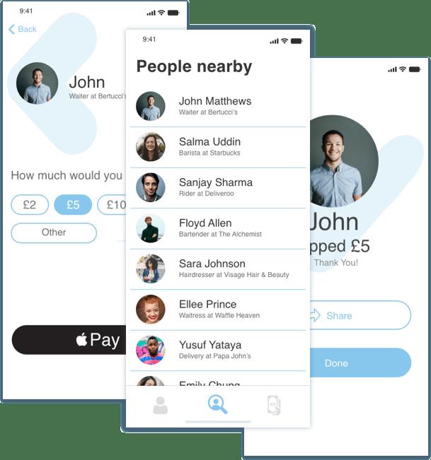 Gratuu App Screenshots
