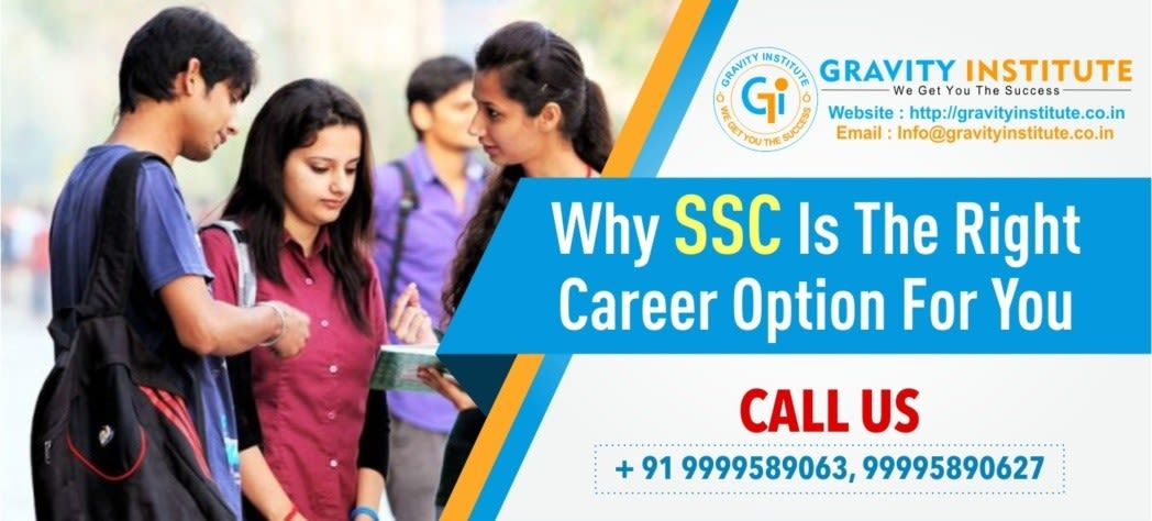 Why SSC is the right career option for you
