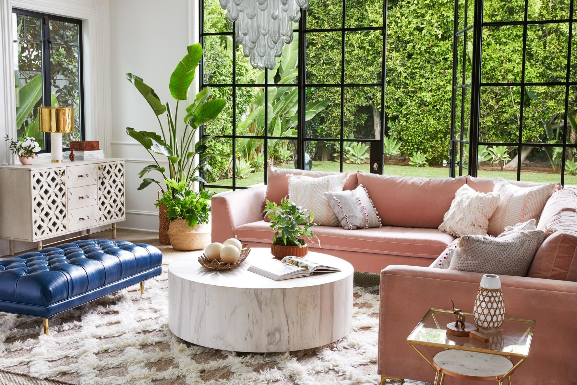 Gray Malinu0027s Living Room Reveal with