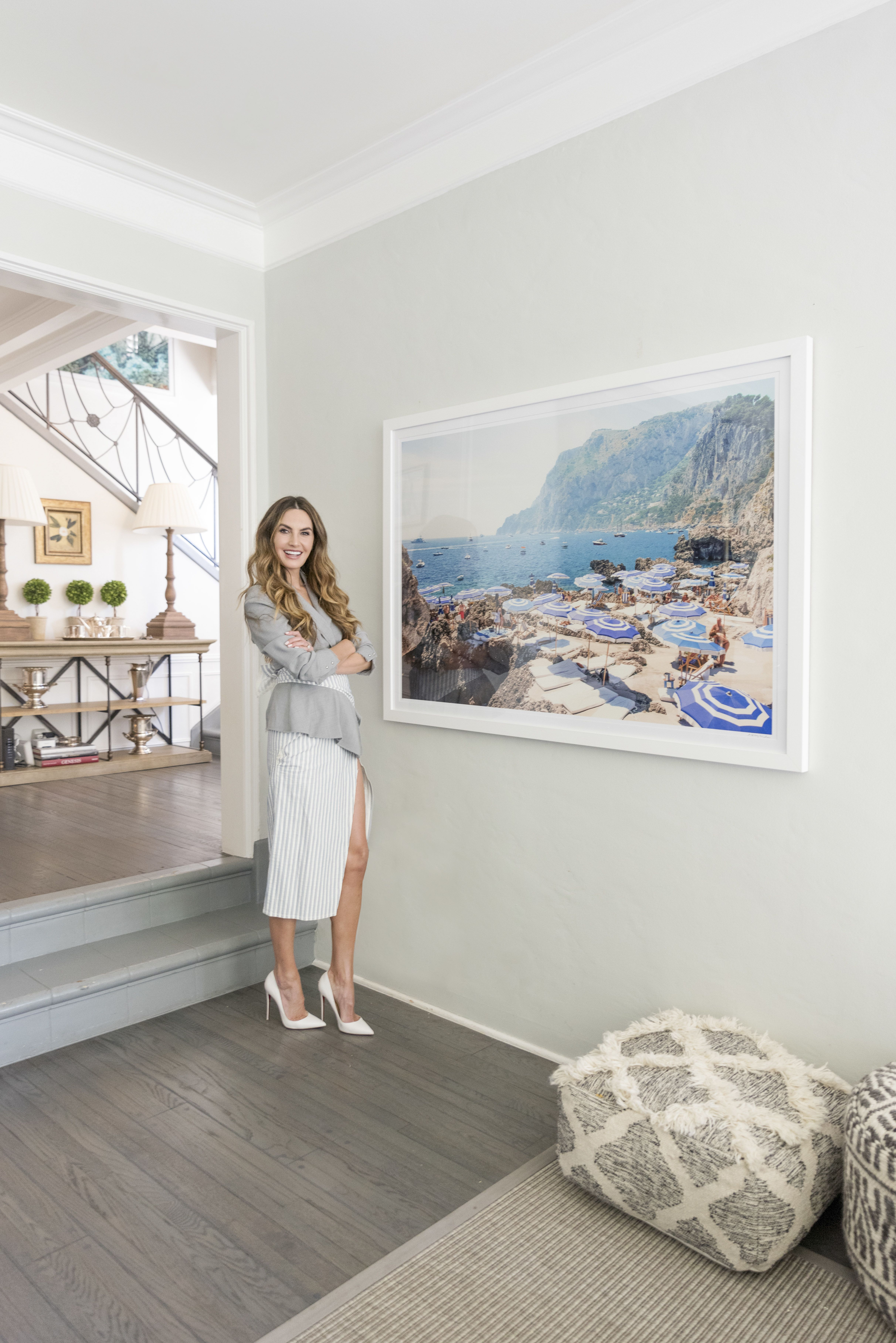 Elizabeth Chambers at home with Gray Malin | Gray Malin