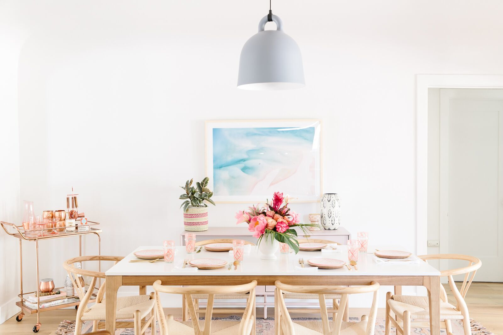 Dining Room Decor Inspiration | Minimalist Design